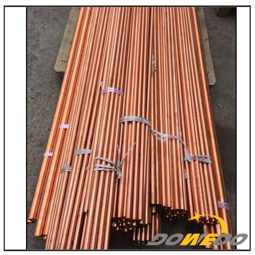 Long and Thin Copper Pipes