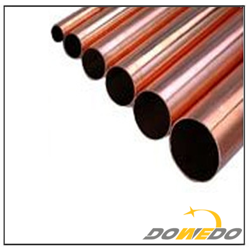 Red Copper Plumbing Pipes
