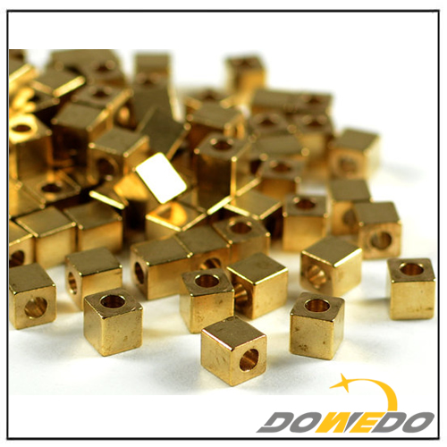 Brass Square Beads Tube