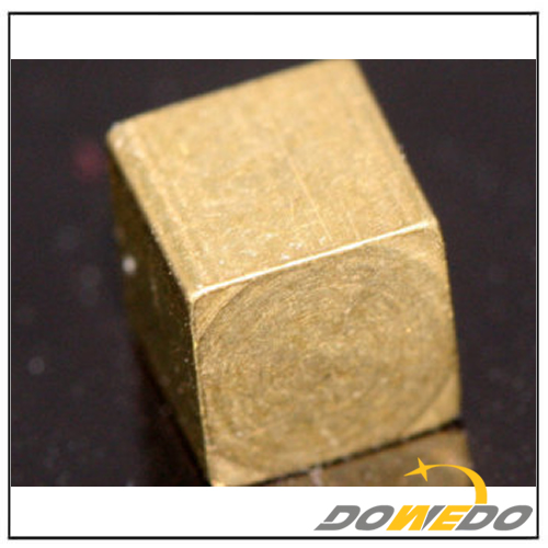 Brass Square Cube