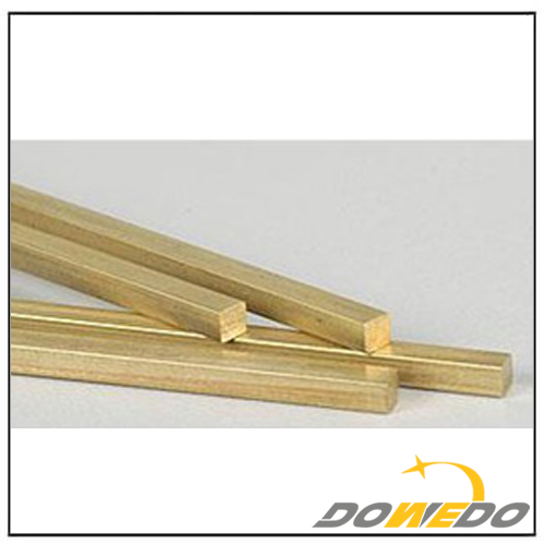 Square Brass Rods