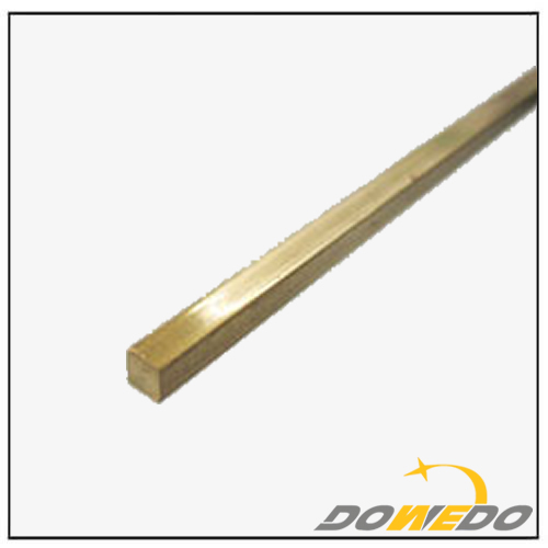 Square Rectangle Brass Rod