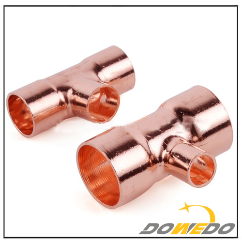 Copper Reducing Tee Copper Fittings