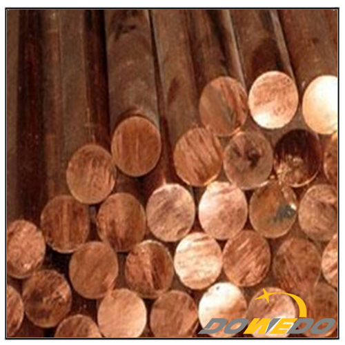 99.9% Pure Copper Cylinder Rods