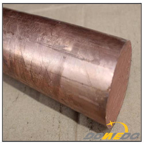 Copper Cylindrical Bar