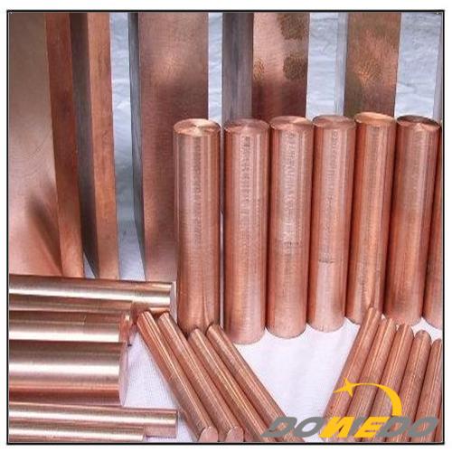 Copper Solid Round Rod