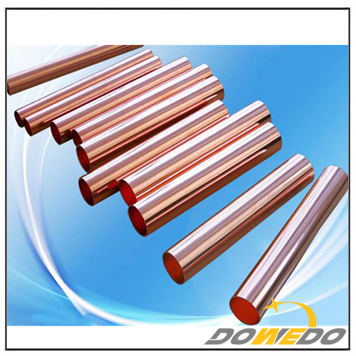 Polished Copper Pipes