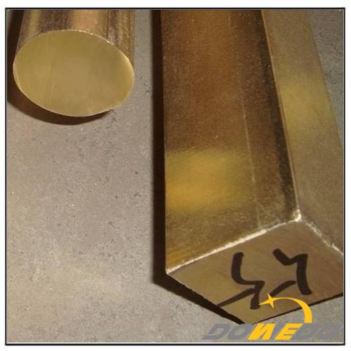 Round Square Brass Rod