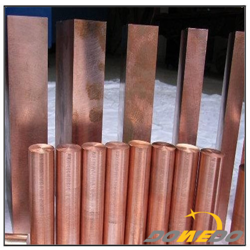 Solid Round Red Copper Bars