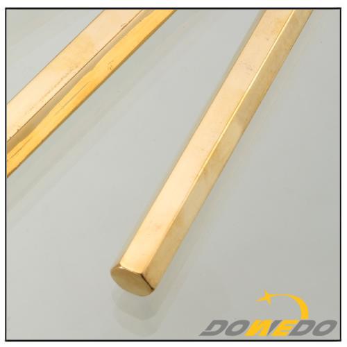 Hexagonal Brass Copper Bars