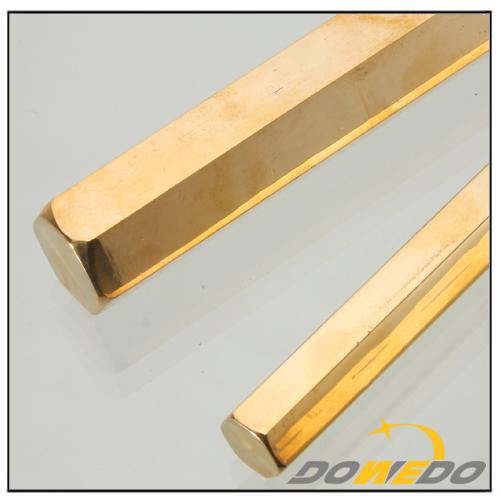 Six-side Polygon Brass Bar