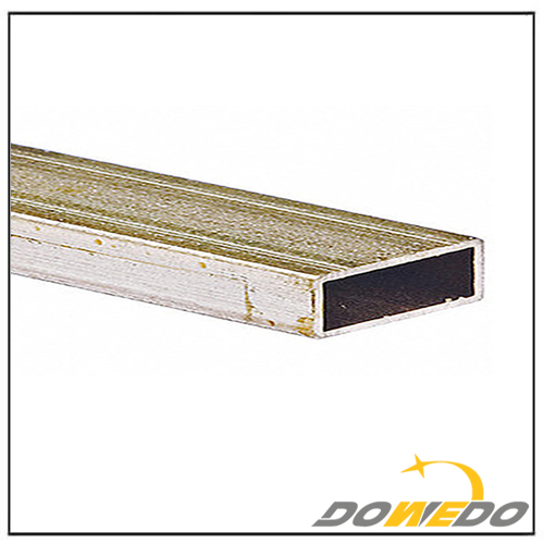 Brass Flat Rectangular Tubing