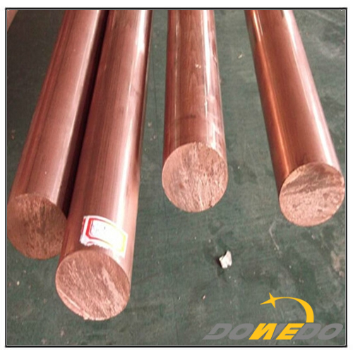 Polished Copper Rods