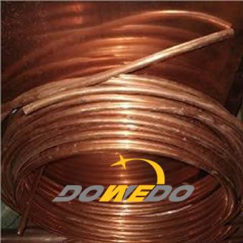Copper tube for radiators