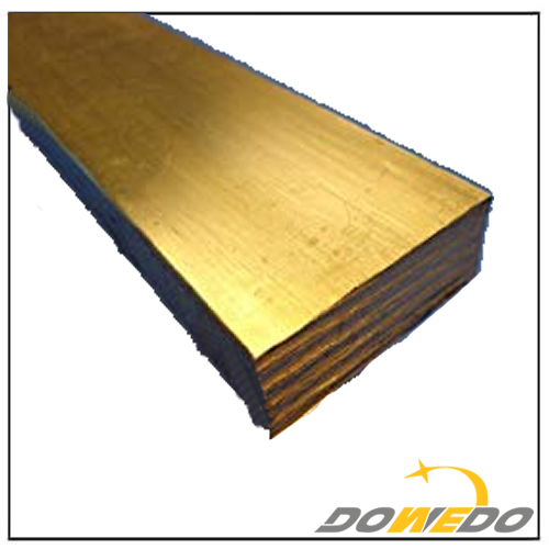 360 Brass Flat Rectangle