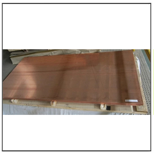 ASTMB152M-06 Brush Surface Copper Plate