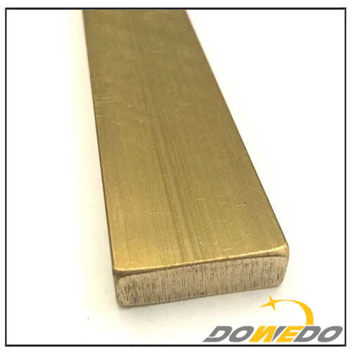 Low Leaded Brass Flat Rod