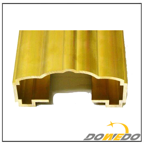 Custom Brass Extrusion Profiles Manufacturer