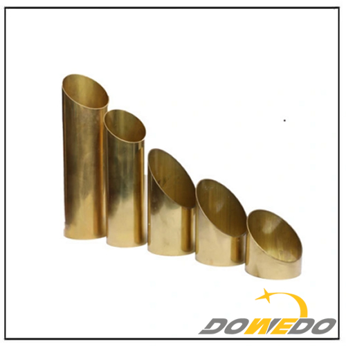 Thin Wall Thickness Oval Brass Tube