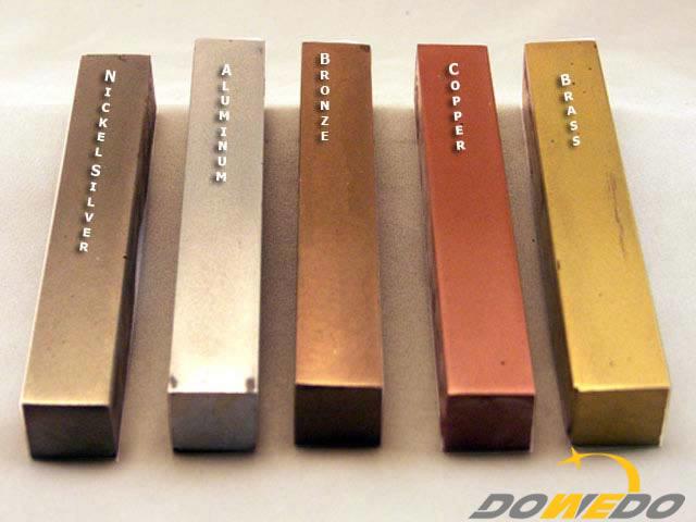 Brass vs Bronze Metal Blanks
