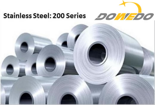 The 200 Series of Stainless Steels