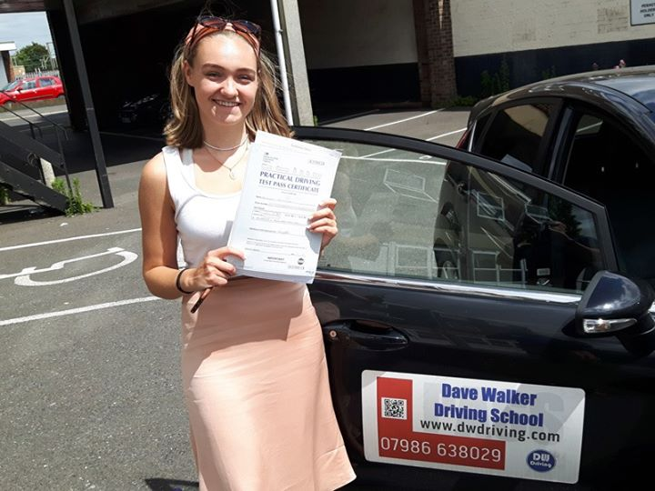 Driving lessonsCongratulations to Bella Sunnocks who passed her practical driving test, on her first attempt, at the Clacton Driving Test centre on 1st July. Enjoy your driving, even when being the family taxi!