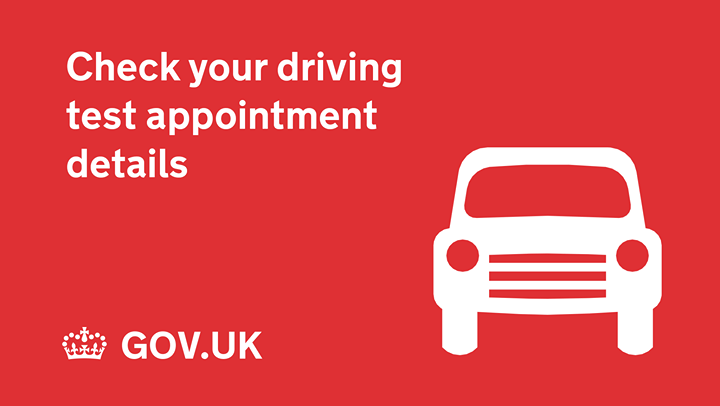 Lost your driving test booking confirmation email? Don't worry, you can check the time of your test and the test centre address online ✅https://www.gov.uk/check-driving-test