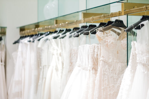 the bridal salon at neiman marcus s epic sample sale starts today