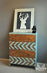 herringbone dresser