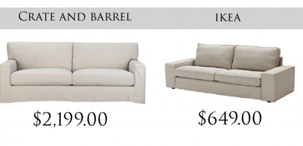 crate and barrel couches