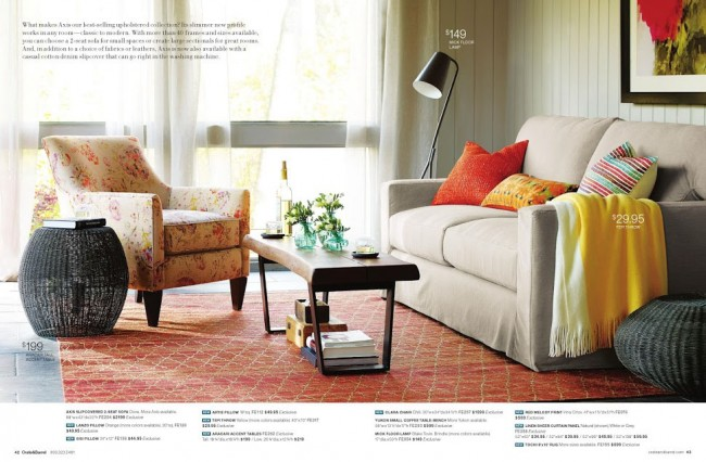get the look for less crate and barrel living room dwell beautiful
