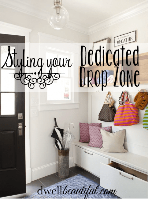 how to style your dedicated drop zone