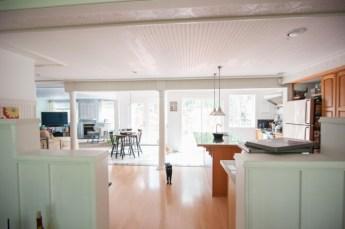 house tour cottage kitchen