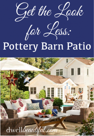 pottery barn patio