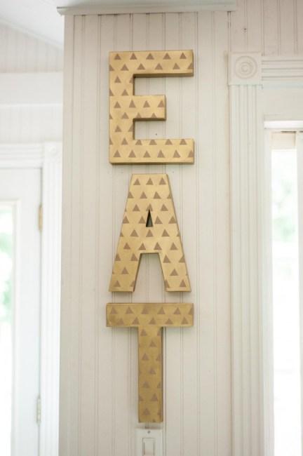 eat kitchen sign