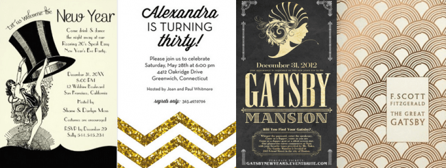 13 Ideas for a '-Great Gatsby'- Theme Party