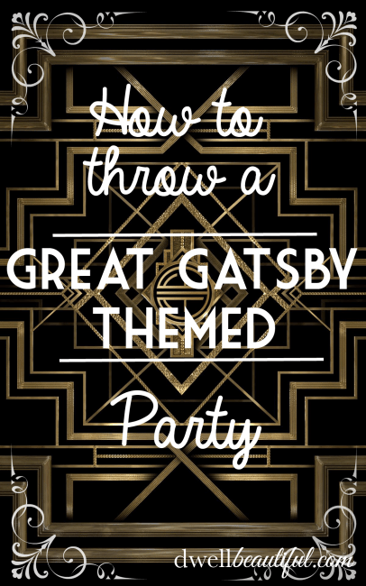 great gatsby themed