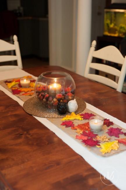 fall table decor
