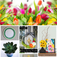 30 Bright & Cheery Spring Crafts