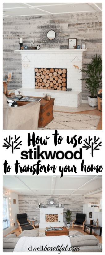stikwood wall