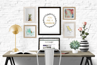 you are a warrior printable quote