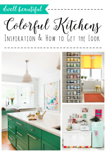Current Trend: Pop of Color in the Kitchen