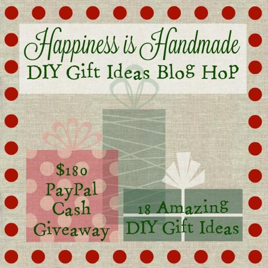 happiness is handmade diy gift blog hop