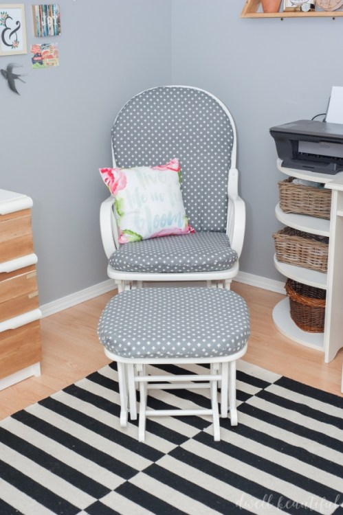 rocking chair slipcover