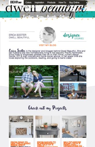 behr designer stories