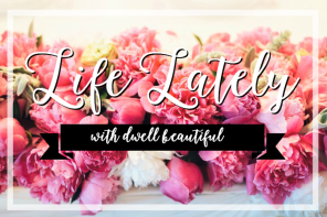 life lately and giveaway