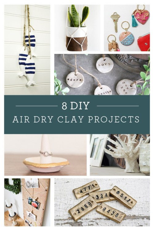 air dry clay ring holder