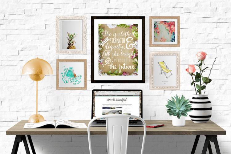 clothed in strength and dignity printable