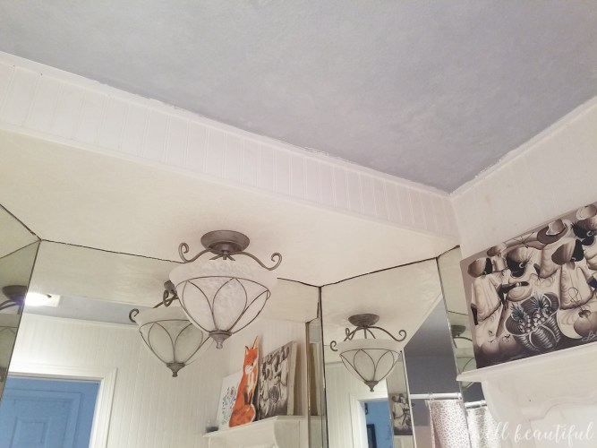 royal design stencil how to stencil a ceiling