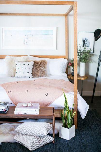 Modern Bohemian Bedroom Inspiration - Dwell Beautiful on Modern Boho Bedroom  id=99502